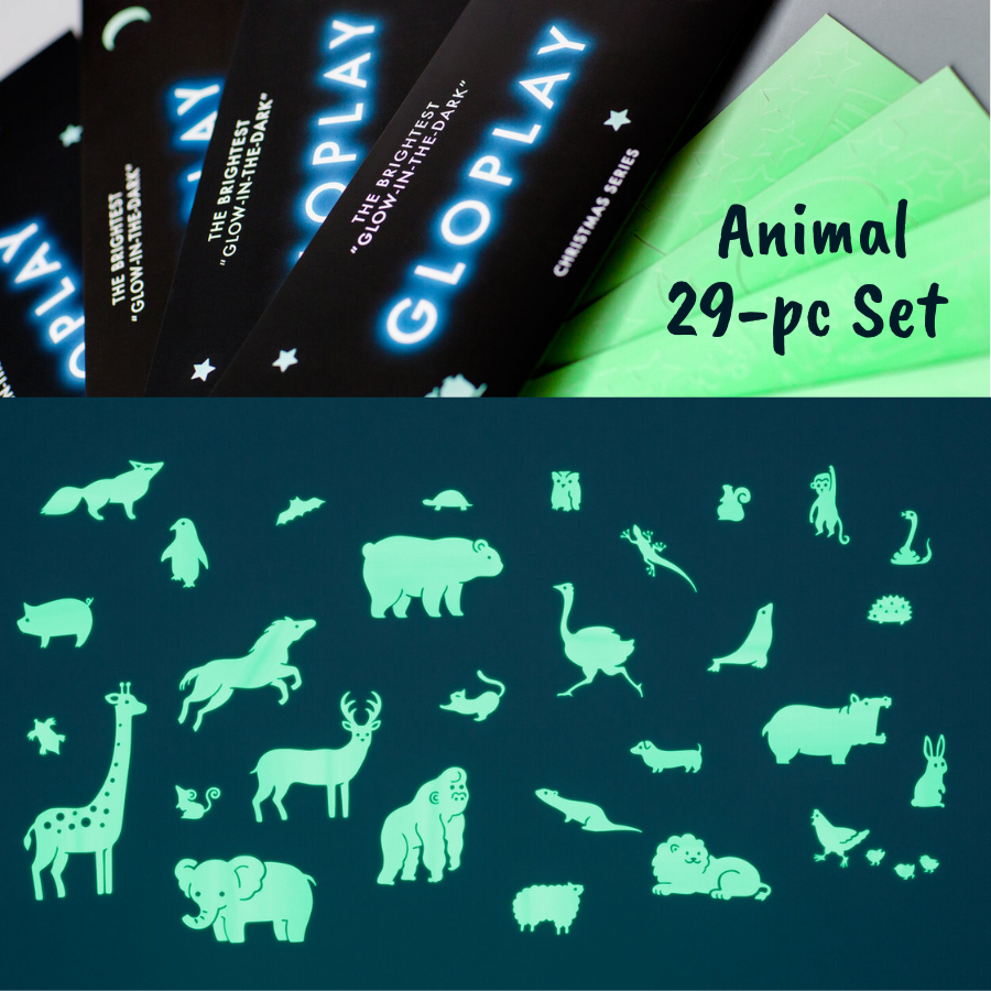 GloPlay Animals 29-pc Pack by Glo-Play