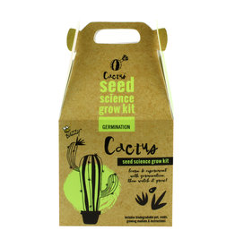 Seed Science Cactus Grow Kit by Buzzy
