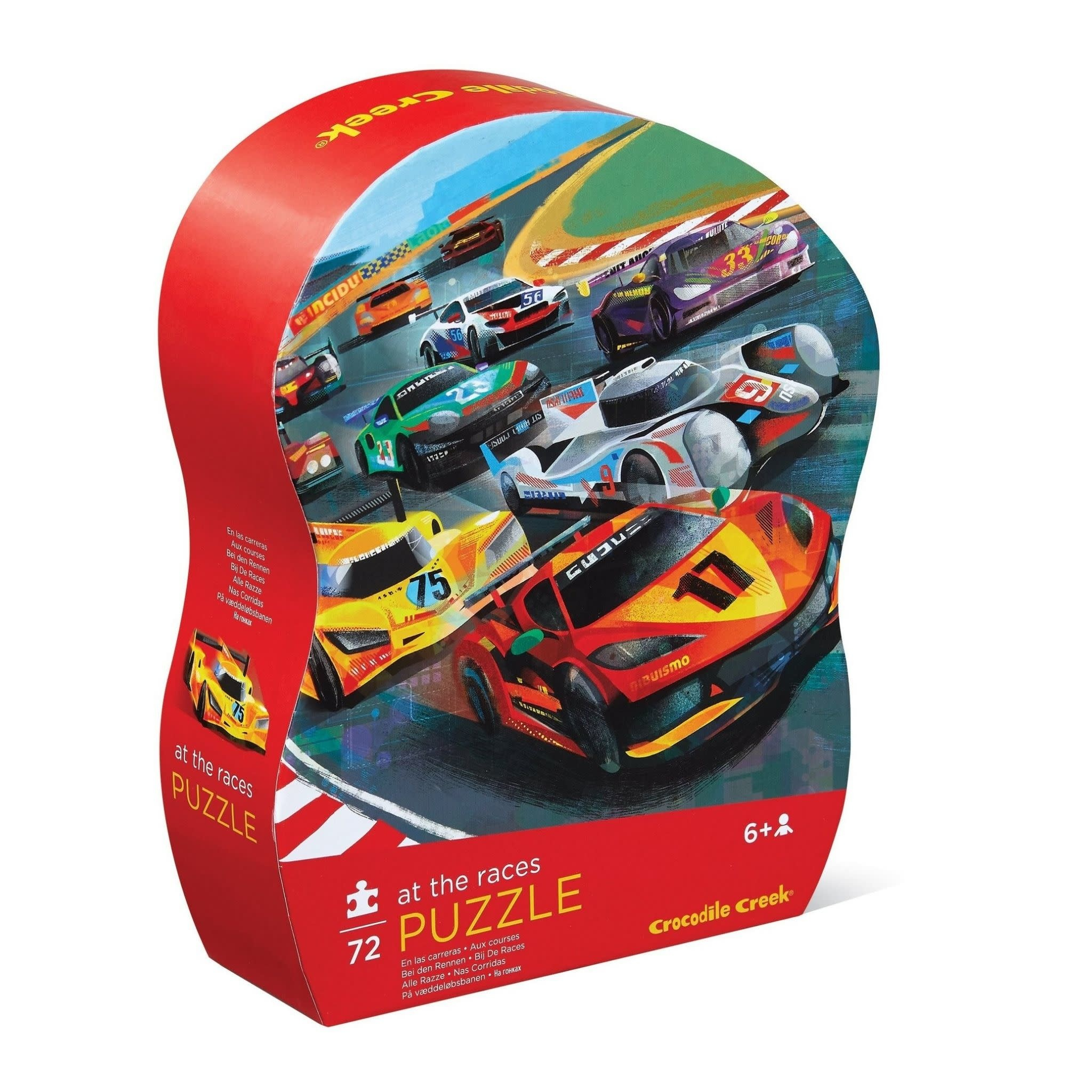 At The Races 72-pc Puzzle by Crocodile Creek