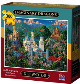 Dowdle Imaginary Dragons 300-pc Puzzle by Dowdle