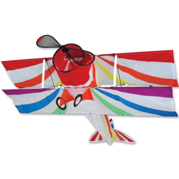 Premier Kites Rainbow Biplane Kite by Premier Kites