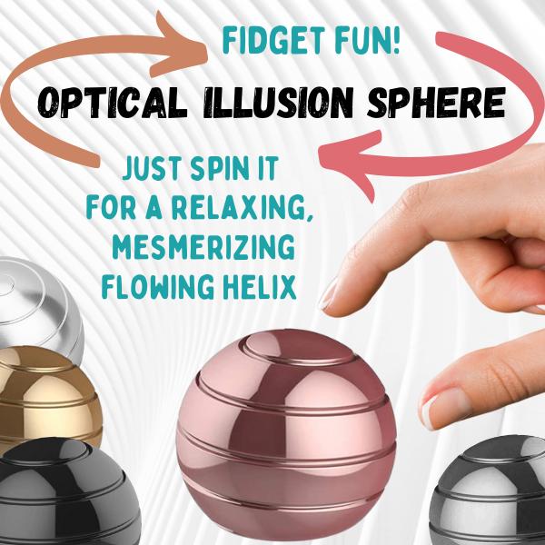 DhGate Optical Illusion Sphere