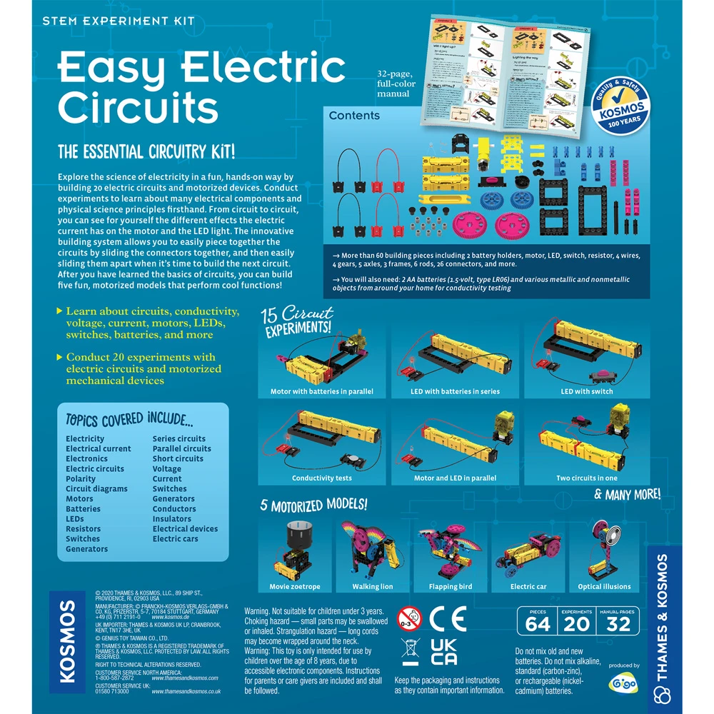 Easy Electric Circuits by Thames & Kosmos
