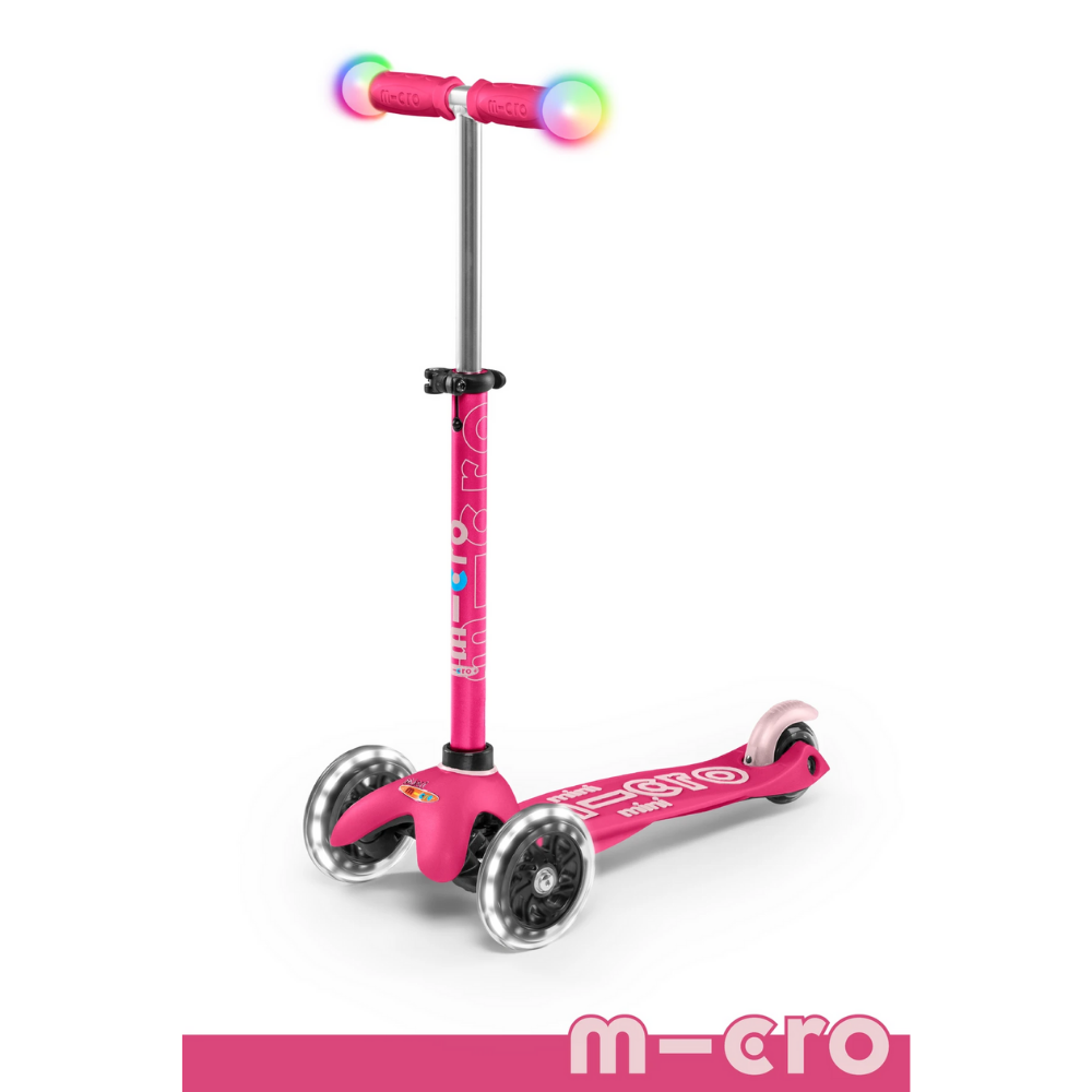 Micro Magic Mini Deluxe Scooter w/ LED - Pink