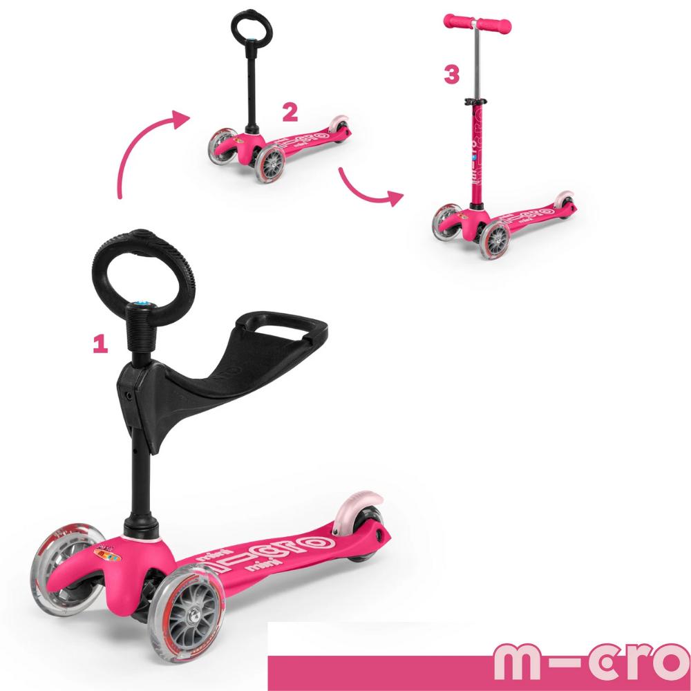 Micro Mini 3in1 Deluxe - Pink