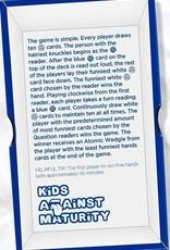 Sullivan Kids Against Maturity Game