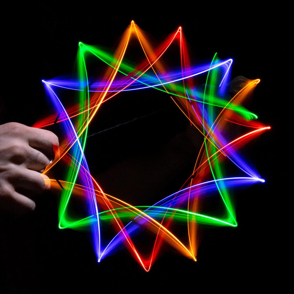 GloFX Basic 4-LED Orbit - Assorted Colors