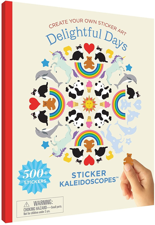 Mrs. Grossmans Sticker Kaleidoscopes - Delightful Days