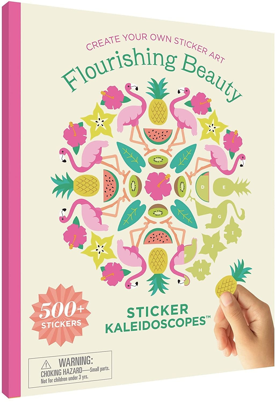 Mrs. Grossmans Sticker Kaleidoscopes - Flourishing Beauty