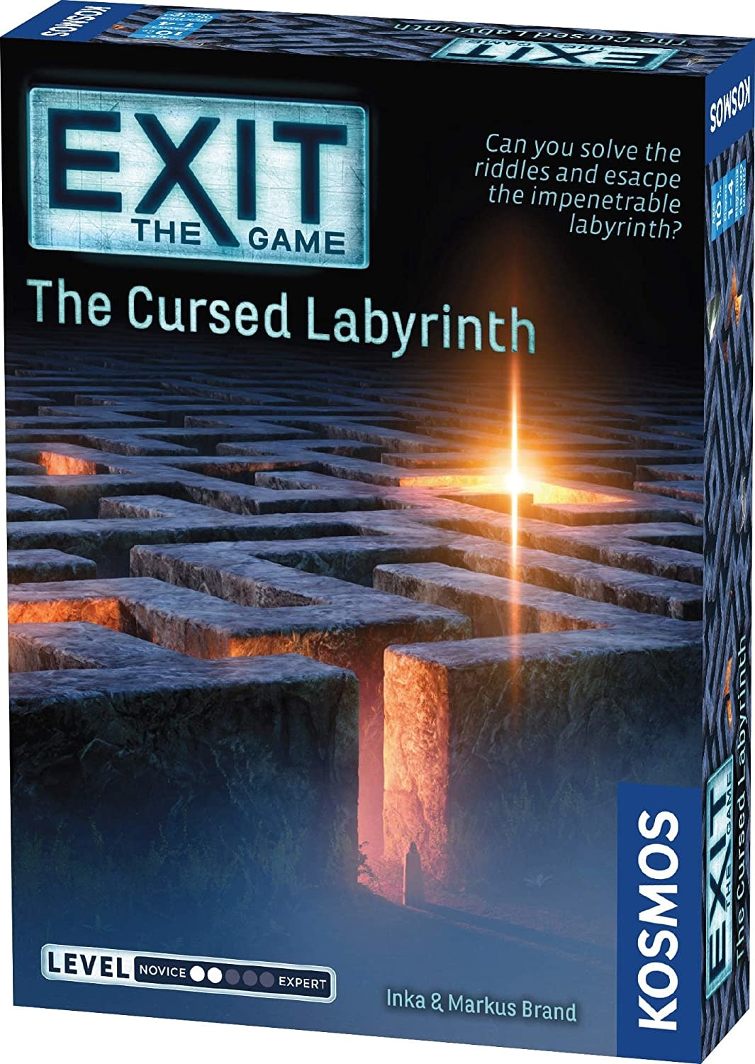 EXIT: The Cursed Labyrinth by Thames & Kosmos