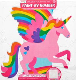 Magic Unicorn Paint by Number by Ooly