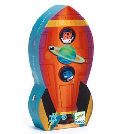 Spaceship 16-pc Mini Puzzle by Djeco