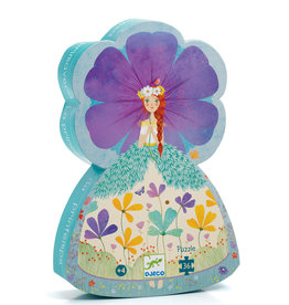 The Princess of Spring 36-pc Silhouette Puzzle by Djeco