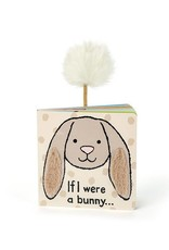 If I Were A Bunny Board Book  (Beige) by Jellycat