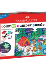 Color-By-Number Puzzle - Camping by Faber Castell