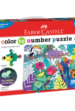 Color-By-Number Puzzle - Jungle Animals by Faber Castell