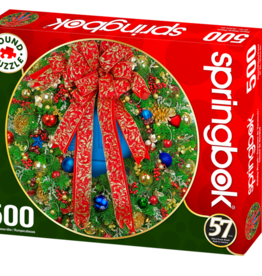 Holiday Wreath 500-pc Puzzle by Springbok