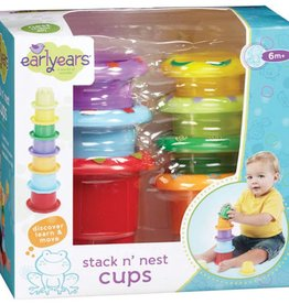 Kidoozie Stack n' Nest Cups by Earlyears