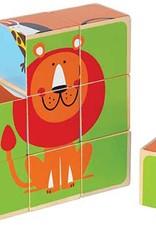 Zoo Animals Block Puzzle by Hape