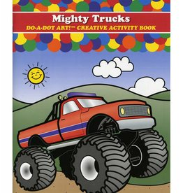 Mighty Trucks Do-A-Dot Art Activity Book