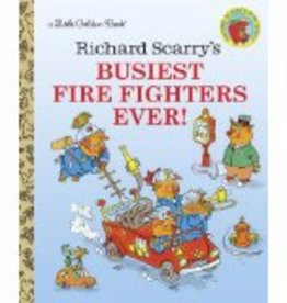 Busiest Firefighters Ever! - Little Golden Book