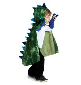 Green Dragon Cape with Claws (5-6) by Great Pretenders