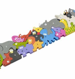 Animal Parade A-Z Puzzle by BeginAgain