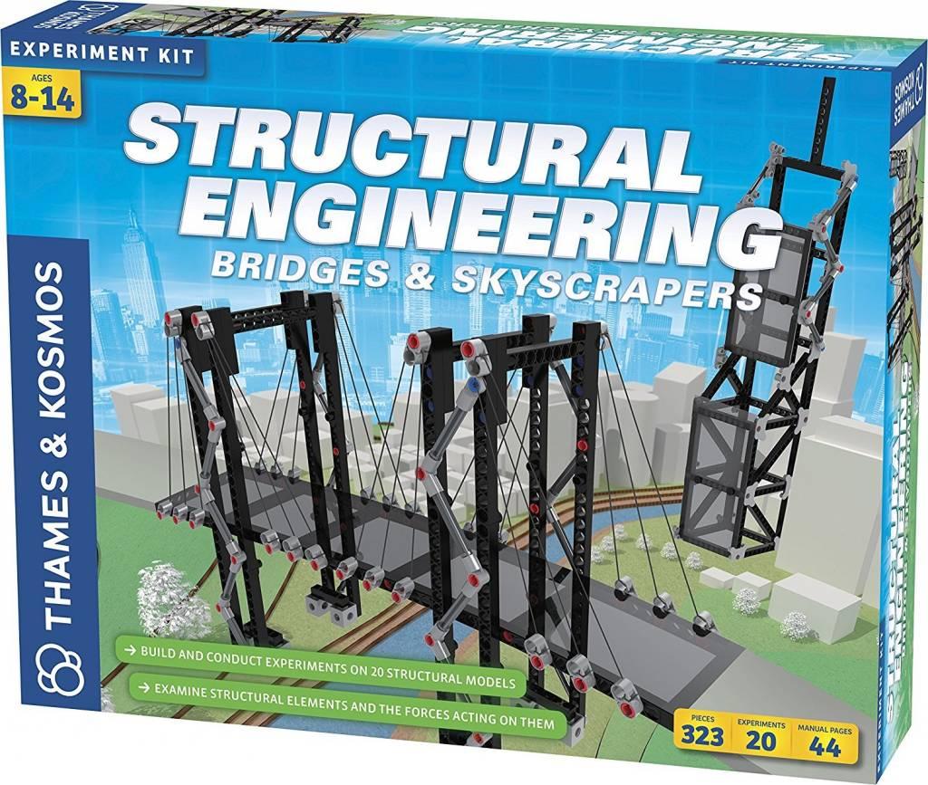 Structural Engineering: Bridges & Skyscrapers by Thames & Kosmos