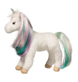 "Douglas Jules 10"" Princess Unicorn by Douglas Cuddle Toys"