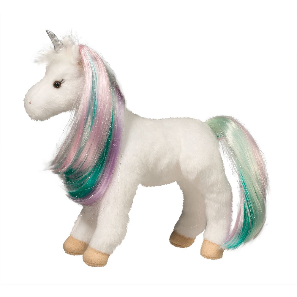 "Douglas Jules 10"" Princess Unicorn by Douglas Cuddle Toys"