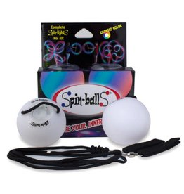Spin-balls LED Poi by Fun in Motion