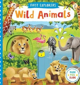 First Explorers Wild Animals Board Book
