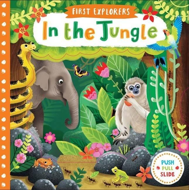 First Explorers In The Jungle Board Book