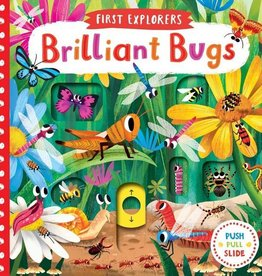 First Explorers Brilliant Bugs Board Book