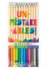 Unmistakeables Erasable Colored Pencils by Ooly