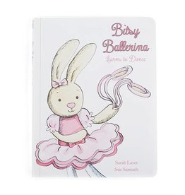 Bitsy Ballerina Learns to Dance by Jellycat