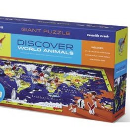 Discover World Animals 100-pc Puzzle by Crocodile Creek