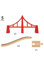 Double Suspension Bridge by BRIO