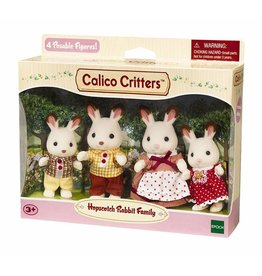 Calico Critters Hopscotch Rabbit Family by Calico Critters
