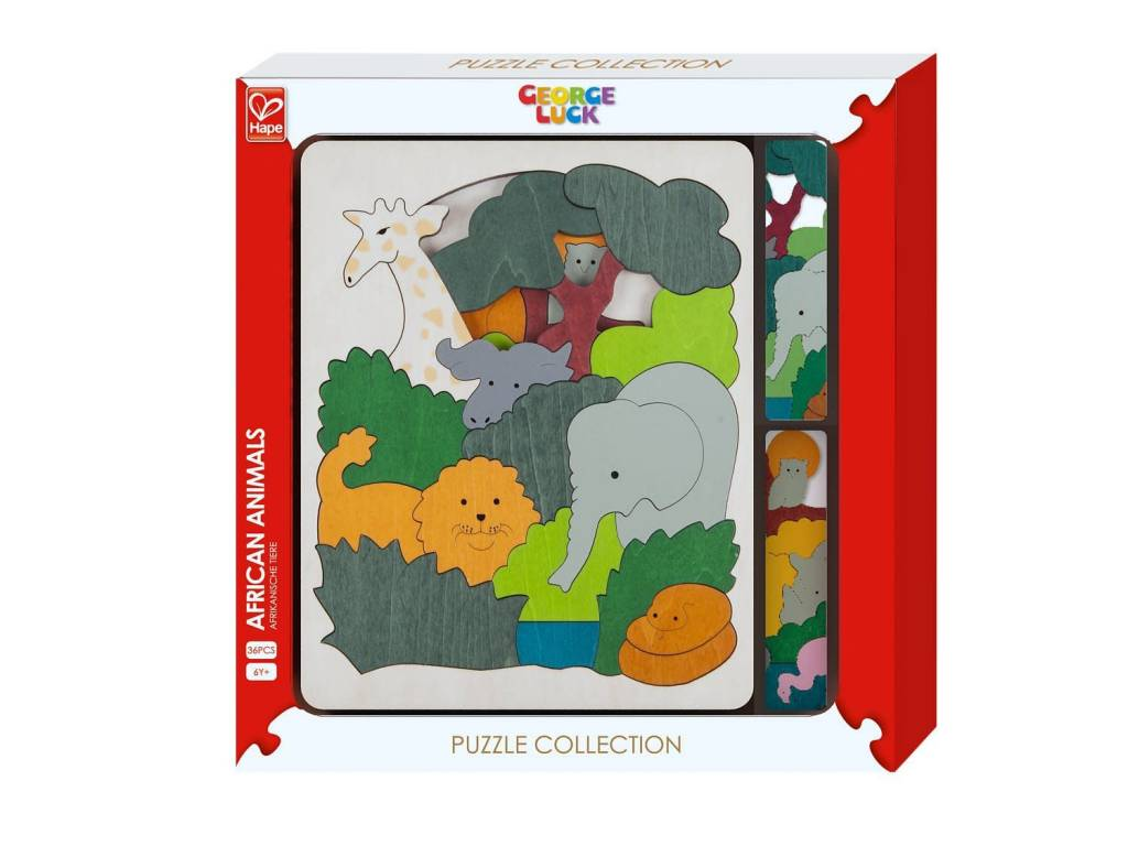 George Luck Puzzles - Assorted