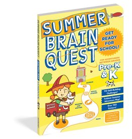 Summer Brain Quest Workbooks