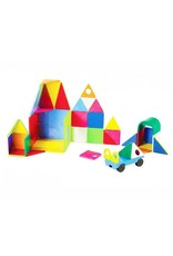 Magna-Tiles Solid Colors 48-pc Deluxe Set