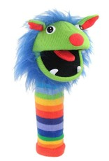 Rainbow Knitted Glove Puppet by the Puppet Company