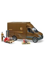 UPS Sprinter, Driver & Accessories by Bruder