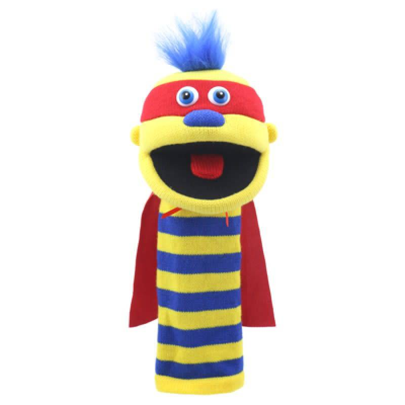 Zap Knitted Glove Puppet by The Puppet Company