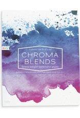 Chroma Blends Watercolor Paper Pad by Ooly