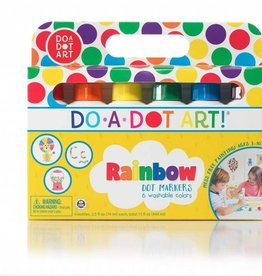 Do A Dot Do-A-Dot Art 6-Pack Rainbow Markers