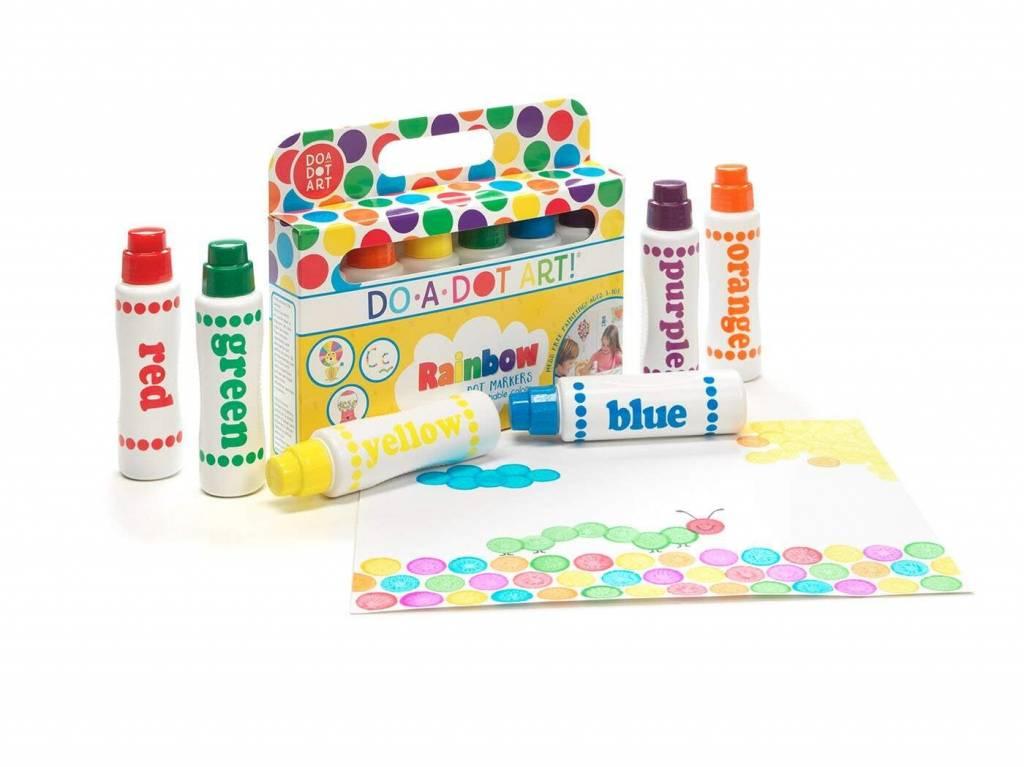 Do-A-Dot Art 6-Pack Rainbow Markers