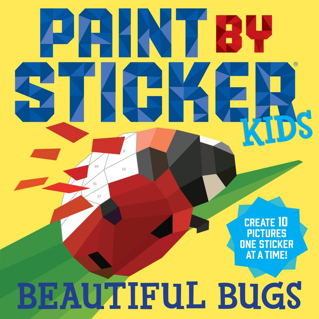Paint by Sticker Kids Workbooks - Assorted