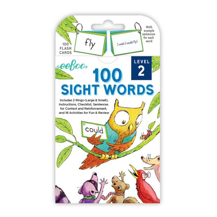 100 Sight Words by eeBoo - 1, 2 or 3